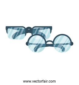 two eyeglasses optical accessories