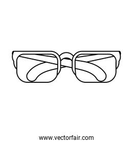 eyeglasses optical accessory linear style icon