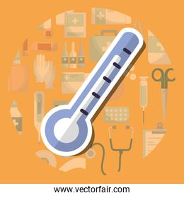 thermometer medical supply healthcare measure