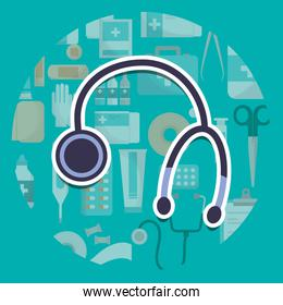 stethoscope medical supply healthcare