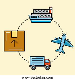 logistics and delivery service