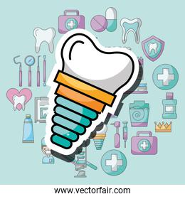 implant dental care and treatment