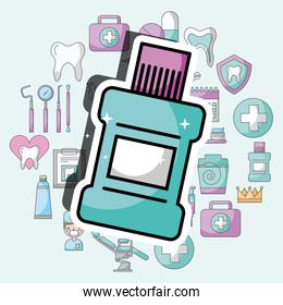 mouthwash dental care and treatment