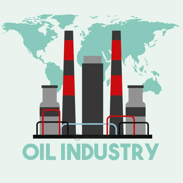 refinery manufacturing plant world map oil industry