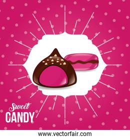 sweet candy card