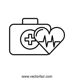 kit first aid and heart rate medical