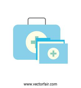 kit first aid folder report medical