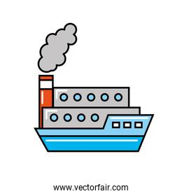boat shipping container transport maritime