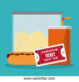 Food and ticket design