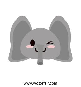 cute animal cartoon icon image
