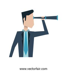 businessman avatar icon image