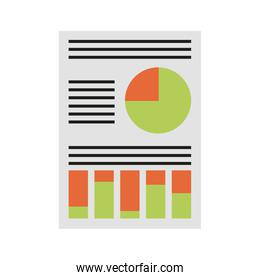 graph chart icon image