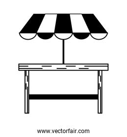outdoor table setting eating outdoors icon image