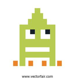 videogame pixel character icon image