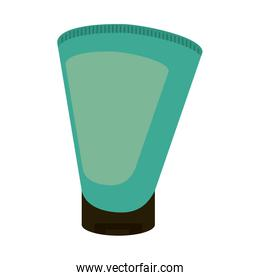 cosmetic bottle with blank label icon image