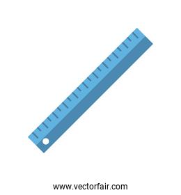 ruler measuring device icon image