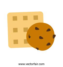 biscuits cracker cookie icon image