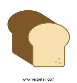 bread loaf icon image