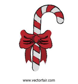 candy canes with bow christmas related icon image