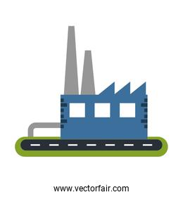 industrial factory icon image
