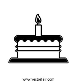 birthday cake with candle icon image