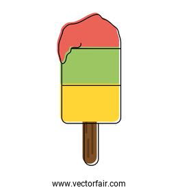 ice cream on stick icon image
