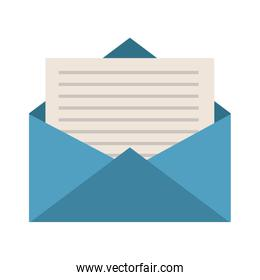 envelope with message icon image