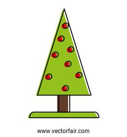 pine tree christmas related icon image