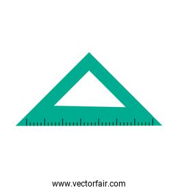 ruler measuring icon image