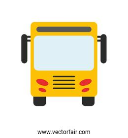 bus frontview icon image