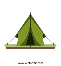camping tent icon image