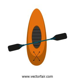 row boat or kayak icon image