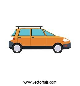 car van sideview icon image