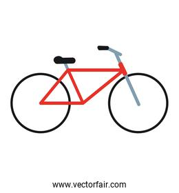 bicycle or bike sideview icon image