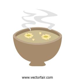 flowers in hot water aromatherapy icon image