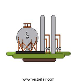 natural gas related icon image