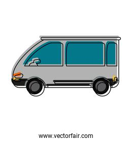 van car sideview icon image