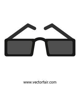 sunglasses with square frame icon image