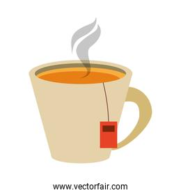 tea in cup icon image