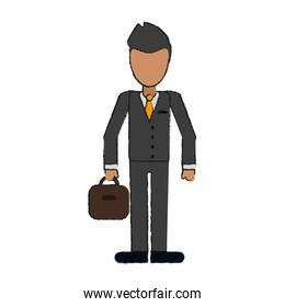 Businessman avatar full body
