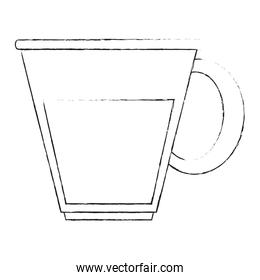 Cup of glass