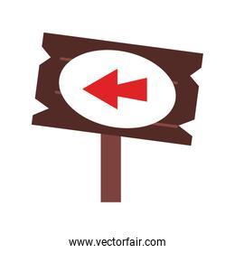 Wooden signpost game item