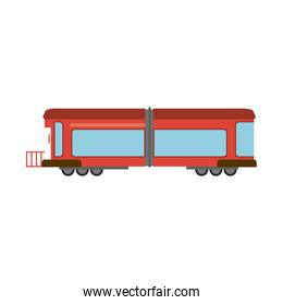 train carriage isolated