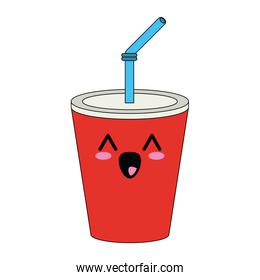 Soda in palstic cup