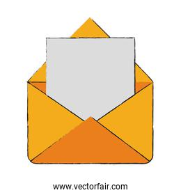envelope mail open