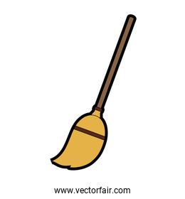 Broom stick tool