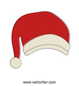 Christmas hat isolated