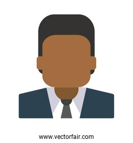 Businessman avatar faceless