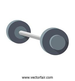 Dumbbell weight isolated