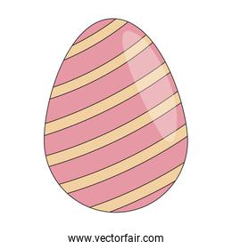 Cute easter egg cartoon